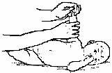 Массаж руки ребёнка  - поглаживание