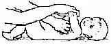 Скрещивание рук на груди ребёнка