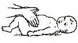 Массаж живота - растирание прямых мышц и косых мышц.